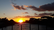 tramonto a lido di spina